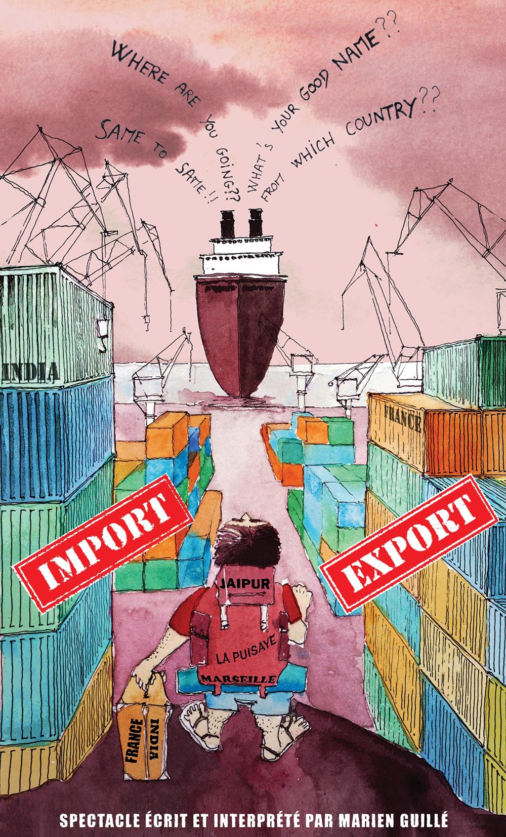 Affiche Import Export