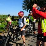Les cyclistes de l'Asaca