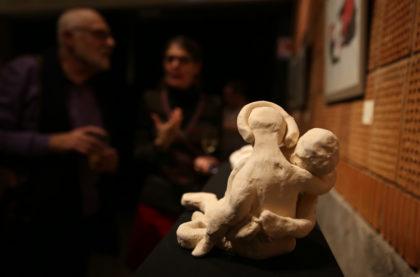 Vernissage de l'exposition des artistes de L'Ancienne Cour à L'Évasion