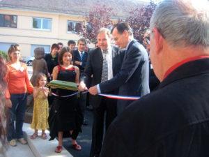 Archives - Inauguration après les travaux au Camsp à Châtenois