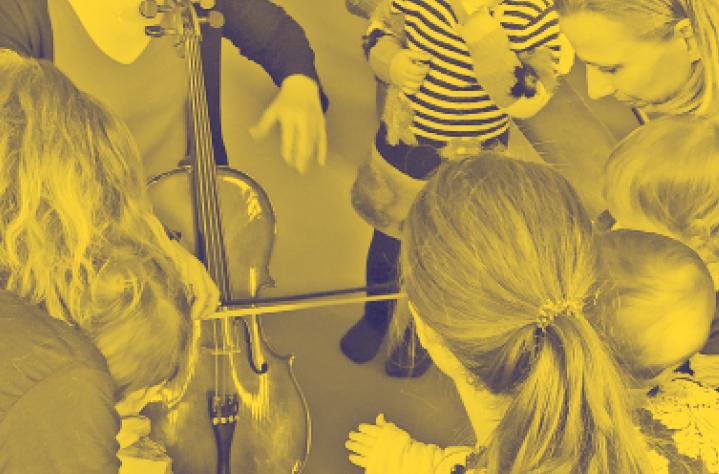 Intervenant musique avec des enfants